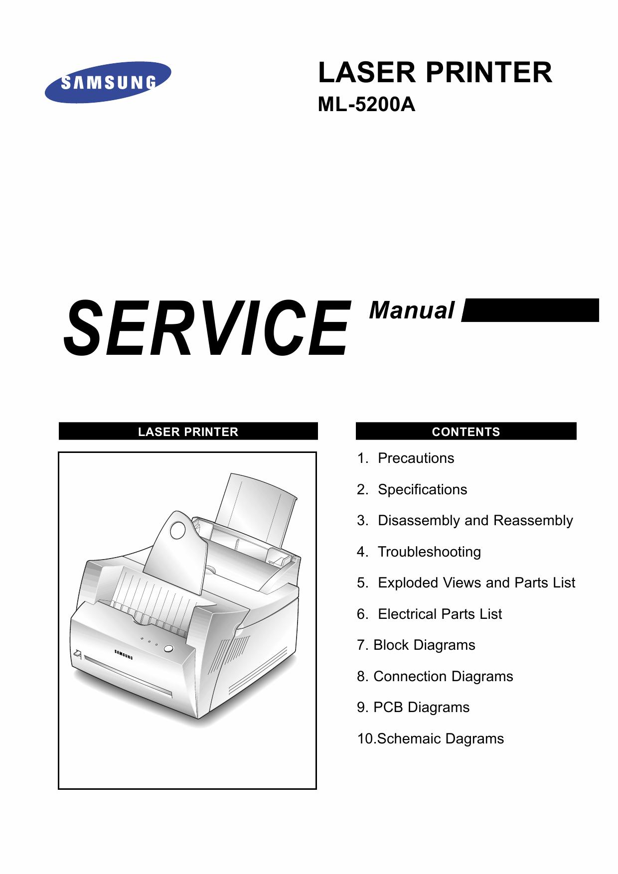 Инструкция принтера самсунг ml 1615
